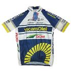 Maglia Ciclismo Vintage Manica Corta Vacansoleil Team Cycling Jersey SIZE XL