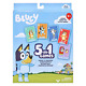 Bluey 5-in-1 Card Game Set - Includes 53 Jumbo Cards