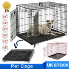 Fold Dog Puppy Cage Pet Animal Training Carrier Crate Small Medium Large XL XXL