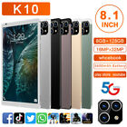 """2021 8.1"""" Wifi Tablet Android 11.0 8gb+128gb 10 Core Gps Dual 3 Cameras Phablet"""