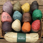 1 Hank of NUTSCENE RAFFIA -17 Great Colours! Crafts, Gifts, Florist, Garden