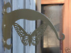 Butterfly PLANT HANGER Hanging Hook Metal Patio Yard 2