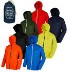 Regatta Mens Pack It Jacket Waterproof & Breathable Packaway Isolite Raincoat
