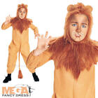 Cowardly Lion Wizard of Oz Fancy Dress Boys Costume