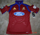 NEW ADIDAS SUPER 14 RUGBY HIGHLANDERS PLAYER JERSEY TOP