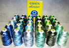 #40 Alcazar Viscose Rayon Embroidery Thread 5,500yds