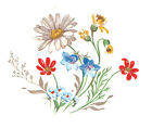 Ceramic Decals Daisy Daisies Wilflower Floral Bunch image