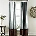 Cindy Crawford PRELUDE BORDER Rod Pocket Panel Curtain