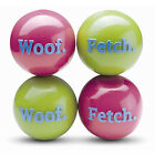 Planet Dog Orbee Tuff Green or Pink Woof & Fetch Balls