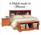 A match made in Heaven Vinyl Wall Home Lettering Art Words Decals Stickers Decor