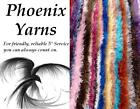 SUPER LONG EYELASH Fluffy Yarn Wool  *COLOUR CHOICE *like funky fur eskimo SCARF