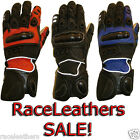 DUCHINNI TRAX MOTORCYCLE MOTORBIKE BIKE GLOVES WITH VENTED KNUCKLES