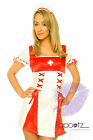 NURSE OUTFIT HOSPITAL LADIES FANCY DRESS COSTUME S&M&L