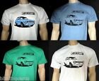 FORD ESCORT MK1 RS2000 T-SHIRT in White Grey Natural Red Blue or Green - 5 sizes