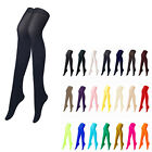 [Black Color] Opaque Womens Pantyhose Stockings Tights Leggings Colour