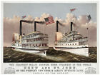 Ship Decor Poster. Fine Art Graphic. Drew and St. John. Home Wall Design. 1133