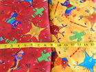 HOT Fiesta Fabric Print Pinatas Red Yellow 100% Cotton