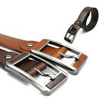 THELEES Mens Casual Colorful Genuine Leather Fashion Belt Collection Type B