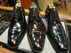 MEZLAN LEATHER CAP TOE SHOE BLACK,BROWN OR NAVY BLUE
