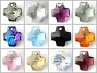 Swarovski Crystal 6866 Cross Pendant 20mm All Colours