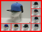 FREE UK P/P - City Hunter USA 2 Tone Fitted Flat Peak SNAPBACK Baseball Cap Hat