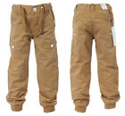 NEW BABIES TODDLERS EZBB81 ETO BRAND CUFFED TAN CHINO JEANS 2-4 YEARS   SALE