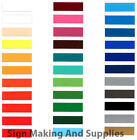 "BUY 2 GET 2 FREE! 5m Roll 48"" Self Adhesive Vinyl Sign Making Vinyl Fablon Film"
