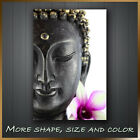 Ancient majestic Buddha Face Flower Canvas Modern Abstract Wall Art Deco 8 Sizes