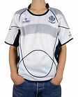 Great Gift: Mens Rugby Nations Scotland Top White Crew Neck