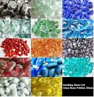 500g (approx 83)Glass Pebbles 20mm 11 Colours Weddings Home Crafts Garden Mosaic