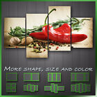 ' Herbs And Spices Kitchen Art ' Modern Kitchen Wall Art Deco Canvas