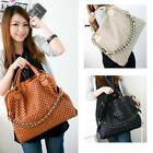 New Fashion Korean Style Lady Hobo PU Leather Handbag Shoulder Bag Z004