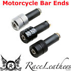 MOTO HANDLEBAR DOUBLE STRAIGHT BAR END WEIGHTS FOR MOTORCYCLES AND SCOOTERS