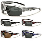 Half Frame Polarized X-Loop Men Designer Fishing Hunting Water Sport Sunglasses