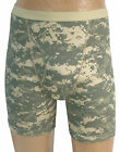 GI Type Boxer Briefs Men Acu Digi or Woodland Camouflage Size S M L XL XXL