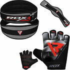 RDX Power Weight Lifting Leather Belt Back Support Strap Gym Training Fitness HY