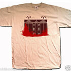 INSPIRED BY THE SHINING T SHIRT - BLOODY LIFTS AN OLD SKOOL HOOLIGANS HORROR T