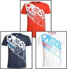 MENS CROSSHATCH DESIGNER T-SHIRTS IN VARIETY OF THREE COLOURS *ONLY 12.99*