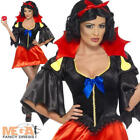 Snow White Bite Ladies Fairytale Halloween Fancy Dress Costume Outfit UK 8-14