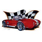 *1257 AC Cobra Vintage Car USA Musclecar Shelby Automotiv T-Shirt