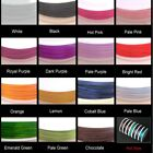 50 Mtrs , 0.8mm-1mm Stretch Flat Elastic Beading Thread - Various Colour