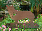 Welsh Corgi Garden Plaque PET MEMORIAL Yard Stake Personalized Dog Canine 2