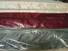 "JCPenney ROMAN BALLOON SOFT SHADE BEADED TRIM Merlot Gold Ivory or Olive 64""L"