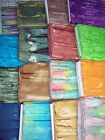 Melting Pot batik fabrics 100% cotton from India horizontal stripe some NEW KOOL