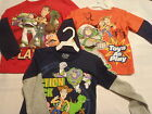 DISNEY Toy Story Boys 2T 3T 4T Choice Buzz Woody Shirt Top Long Sleeves NWT
