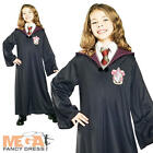 Harry Potter Girls Gryffindor Robe Fancy Dress Book Week Halloween Kids Costume