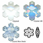 Swarovski Crystal 6704 Snowflake 20mm Pendant Approved UK Supplier ✔