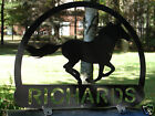 Mustang Horse MAILBOX TOPPER Address Plaque Personalized Equine Pet Farm Ranch