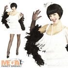 White Flapper 20s Charleston Fancy Dress Adult Costume