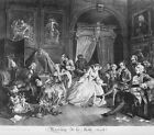 Marriage La Mode Plate 4 Countesss Levee William Hogarth  Repro Art Photo/Poster